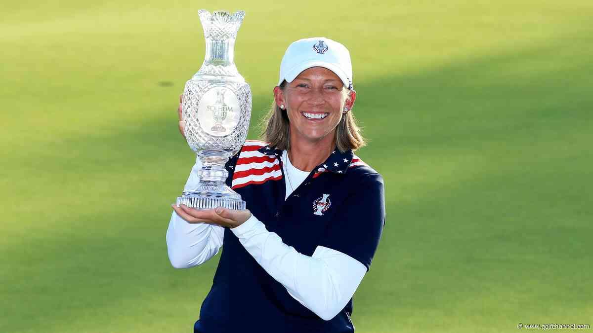 Pat Hurst tabs Angela Stanford as U.S. Solheim Cup assistant captain