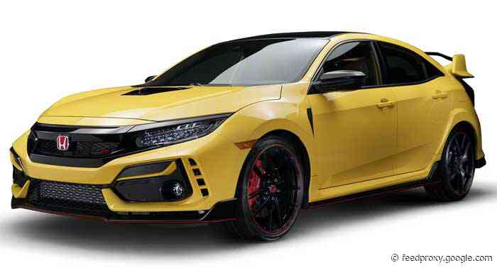 Canadian Honda Civic Type R Limited Edition sold out in four minutes