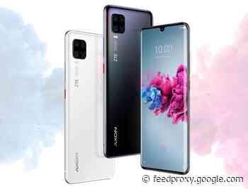 ZTE Axon 11 4G smartphone announced