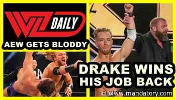 AEW Dynamite Gets Bloody, Drake Maverick Wins His Job Back (WrestleZone Podcast)