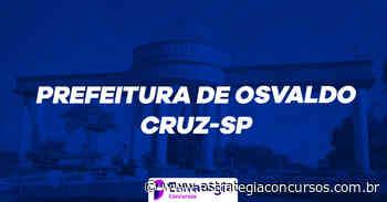 Novo concurso Osvaldo Cruz terá a Consulpam como banca - Estratégia Concursos