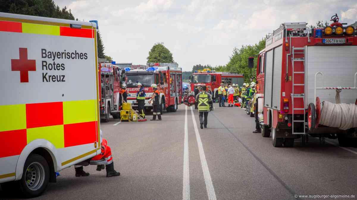 Unfall auf der B17: Was für eine Tragödie