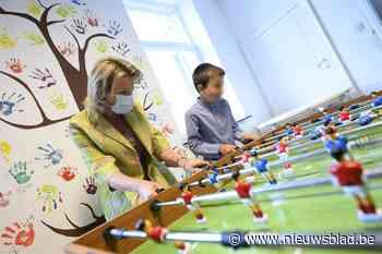 Koningin Mathilde op bezoek bij vereniging voor jeugdhulp - Het Nieuwsblad