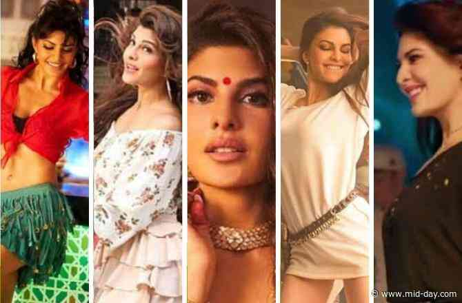 Here are Jacqueline Fernandez's top five hook steps that would surely make you groove to her songs