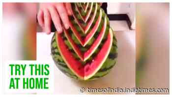 Shapely watermelons: Try cutting them like this