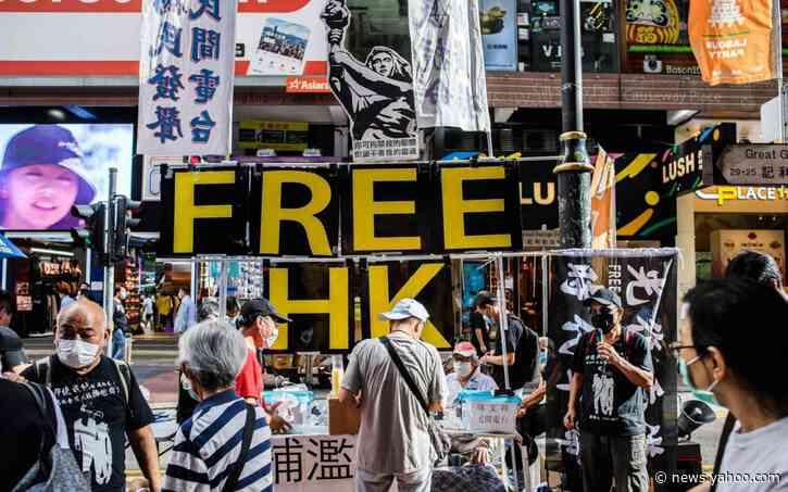 Hong Kong criminalises insulting Chinese national anthem