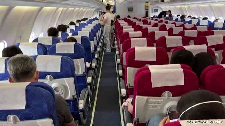 China eases flight curbs after U.S. targets its airlines