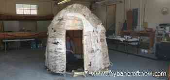 Traditional Algonquin dwelling made in Bancroft to be displayed at Canadian Museum of History