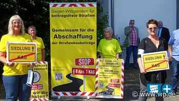 Hilchenbach: Lieber kein Straßenbau als KAG-Beiträge - Westfalenpost