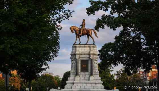 Virginia Removing Statue Of Traitor General Robert E. Lee In Richmond