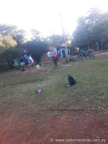Policia Interviene en Cancha de Voley en Cerrito-Cnel. Bogado - radiomarandu.com.py