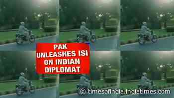 Top Indian diplomat harassed, tailed and chased by ISI agents in Pakistan