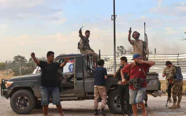 Libya's government claims to have retaken Tripoli as Russian-backed rebel retreats