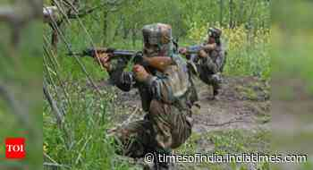 Terrorist killed in encounter with security forces in Jammu and Kashmir's Rajouri