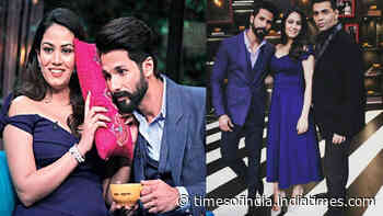When Mira Rajput grilled Karan Johar for never mentioning Shahid Kapoor in his rapid-fire questions