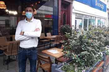 Clichy : les terrasses des restaurants prennent leurs aises jusqu'à fin août - Le Parisien