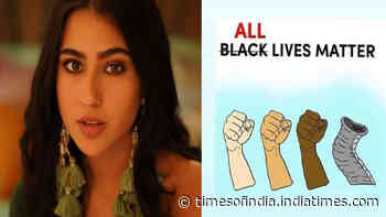 'All lives matter', writes Sara Ali Khan as she condemns brutal killings of George Floyd and the pregnant elephant in Kerala