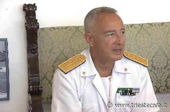 L'ammiraglio Luca Sancilio dice addio a Trieste: «Rimarrà per sempre nel mio cuore» - triestecafe.it