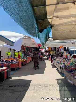 MANDURIA - Il mercato settimanale del martedì di Manduria si trasferisce, a partire dal 9 giugno, in via per Uggiano Montefusco - ManduriaOggi