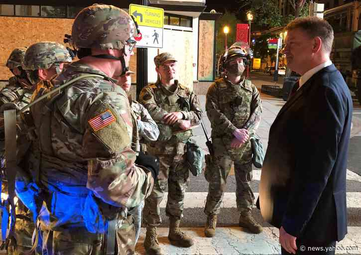 Hundreds of federal agents descend on DC to quell violence