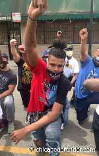 Stop Killing Us! Black Men Line the Streets to Take Back Their Communities