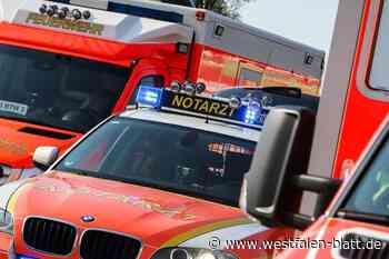 Unfall trotz Bremsmanöver - Westfalen-Blatt