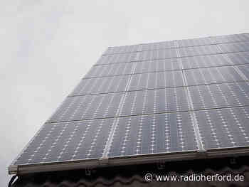 Große Photovoltaik-Anlage in Kirchlengern - Radio Herford