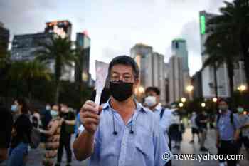 On China's Tiananmen anniversary, Hong Kong outlaws mocking anthem