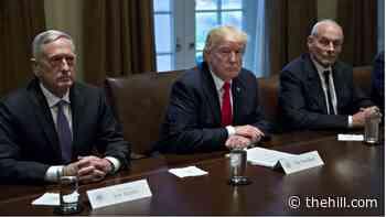 John Kelly defends James Mattis: 'The president did not fire him'