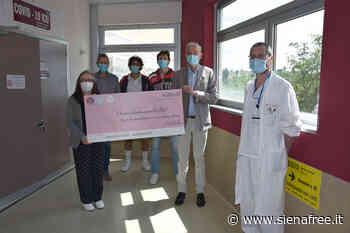 La Virtus Siena dona 2.200 euro all'Azienda ospedaliero-universitaria Senese grazie alla vendita delle maglie - SienaFree.it