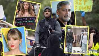 Star-Protest für George Floyd: John Boyega, Taylor Swift, Halsey mit Yungblud, Clooney&Co. - BILD