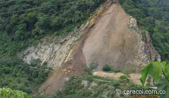 VIDEO: Nuevo derrumbe en la vía a San Vicente de Chucurí - Caracol Radio