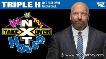 LISTEN NOW: Triple H NXT TakeOver: In Your House Media Call (Full Audio & Highlights)