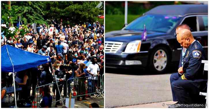 George Floyd, l'America si ferma per i funerali. Migliaia a Minneapolis, diretta tv in tutti gli Usa. 'Aveva il Covid, ma è morto per pandemia di razzismo'