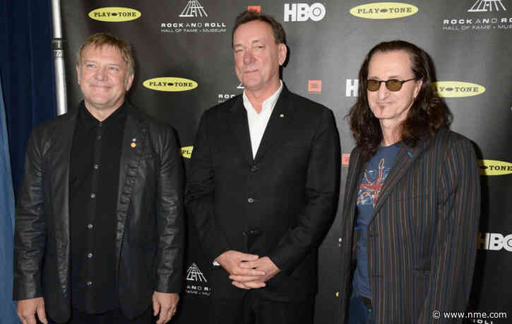 Rush's Alex Lifeson says he no longer wants to play music following Neil Peart's death