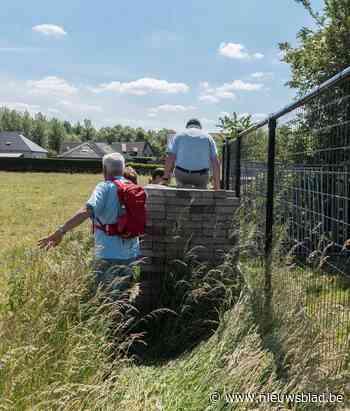 Wandelpad versperd en dus wordt wandeling klauterpartij (Sint-Lievens-Houtem) - Het Nieuwsblad