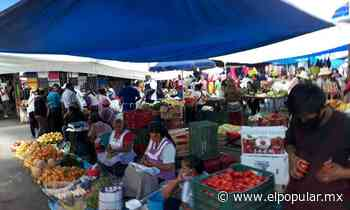 Tianguistas en Atlixco ganan terreno en su regreso a las calles - El Popular