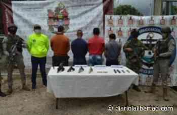 Capturan en Arauca a alias 'Manteco', cabecilla de la compañía Simacota del Eln - Diario La Libertad