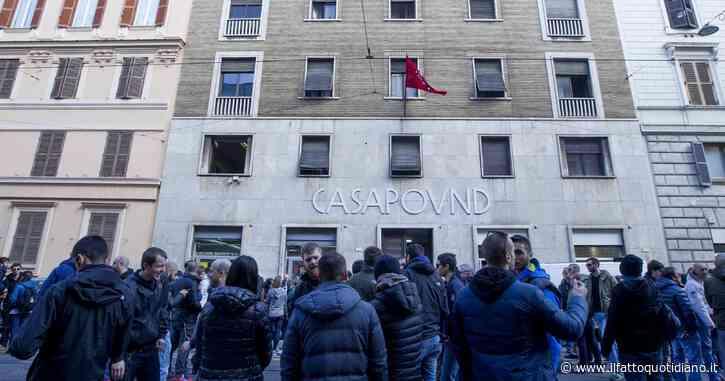 Casapound, nella sede sequestrata risultano residenti 16 dipendenti di Comune, Regione e ministero del Tesoro (in 'emergenza abitativa')