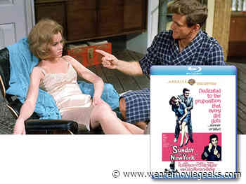Jane Fonda and Rod Taylor in SUNDAY IN NEW YORK Available on Blu-ray From Warner Archive - We Are Movie Geeks