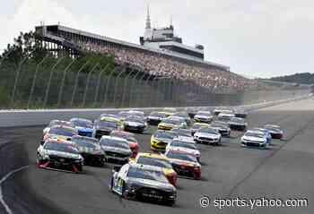 NASCAR releases schedule through Aug. 2 featuring races at Pocono, Indy, Texas, Kansas and more