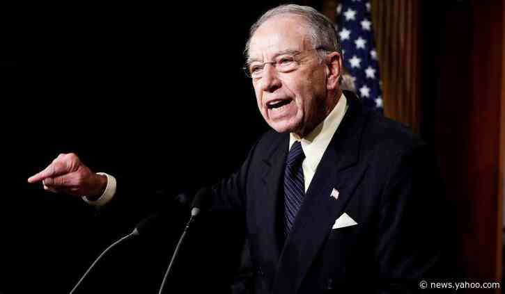 Grassley Says He Will Hold Up Trump Appointees Until Admin. Gives Explanation for Fired Watchdogs