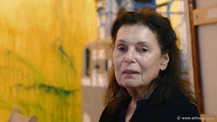 Powerful New Pat Steir Documentary Showcases Intrepid Painter's RichMind