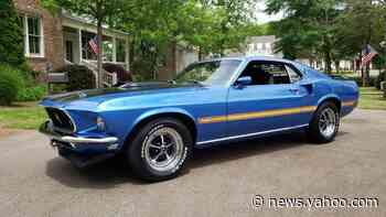 Cure The Blues In This Restored S-Code 1969 Ford Mustang Mach 1