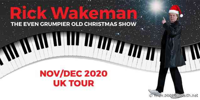 RICK WAKEMAN Releases Trailer For 'The Even Grumpier Old Christmas Show 2020' Tour