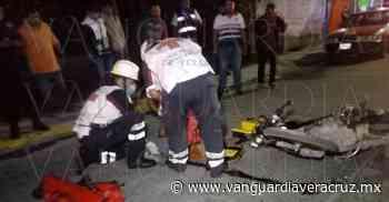 Se fractura el tobillo al derrapar, en Tuxpan - Vanguardia de Veracruz