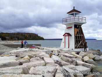 Community rebuilding 'profoundly important' Lion's Head lighthouse - Owen Sound Sun Times