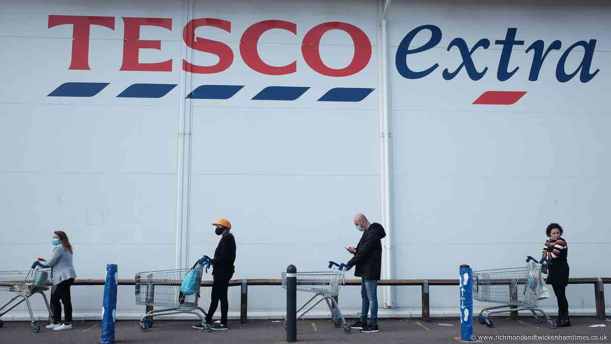 Tesco's new rule for queuing up when it's raining - Richmond and Twickenham Times