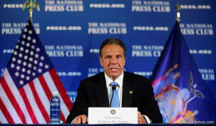 New York's Cuomo, concerned about COVID-19 spread, asks protesters to get tested