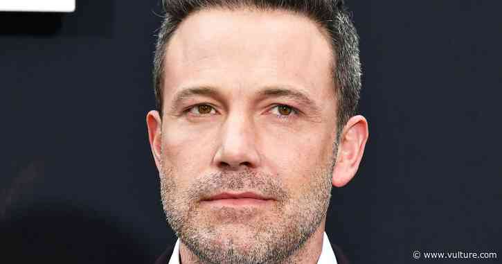 Finally, Some Joy: Someone Found Ben Affleck's Secret Instagram - Vulture
